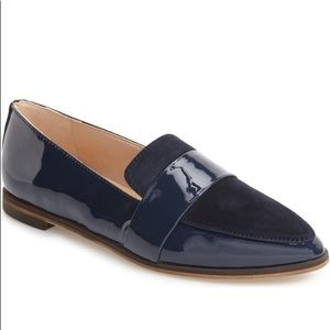 Dr. Scholl's Ashah Pointed Toe Loafer Flat Black 8